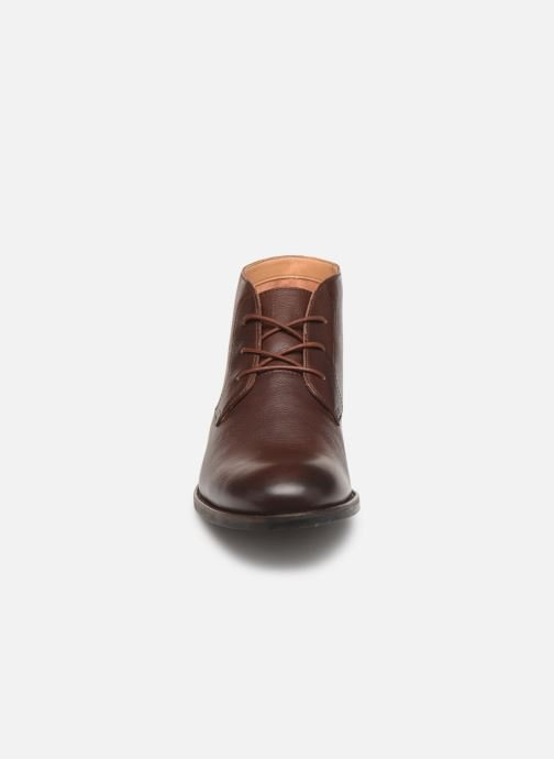 Ankle boots Clarks FLOW TOP Brown model view