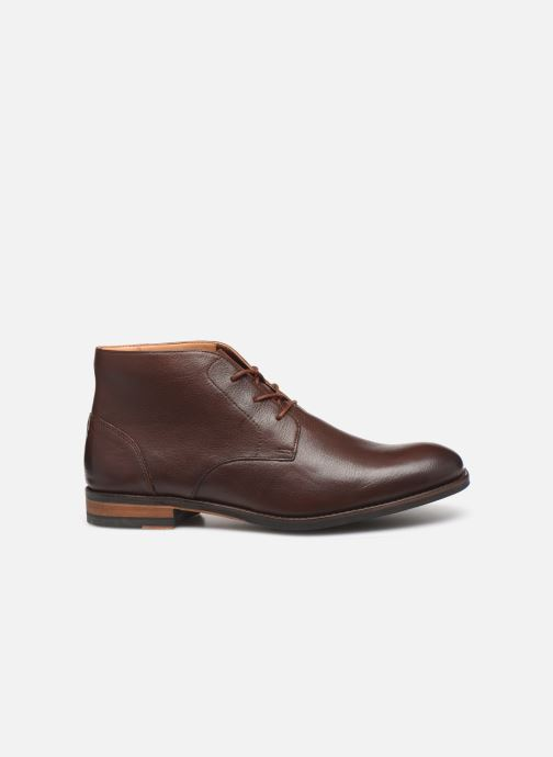 Ankle boots Clarks FLOW TOP Brown back view