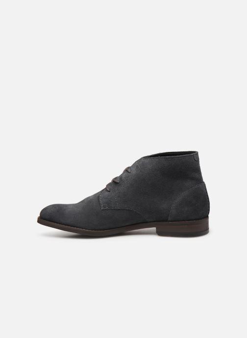 Boots en enkellaarsjes Clarks FLOW TOP Grijs voorkant