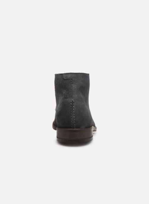 Bottines et boots Clarks FLOW TOP Gris vue droite