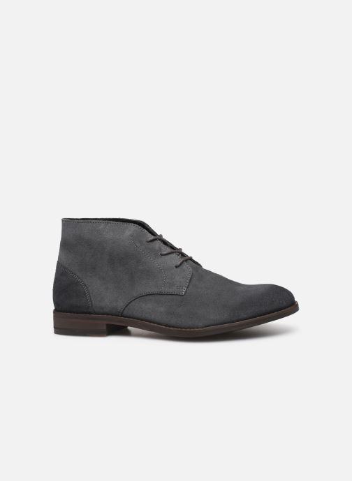 Boots en enkellaarsjes Clarks FLOW TOP Grijs achterkant