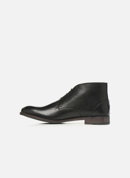 Boots en enkellaarsjes Clarks FLOW TOP Zwart voorkant