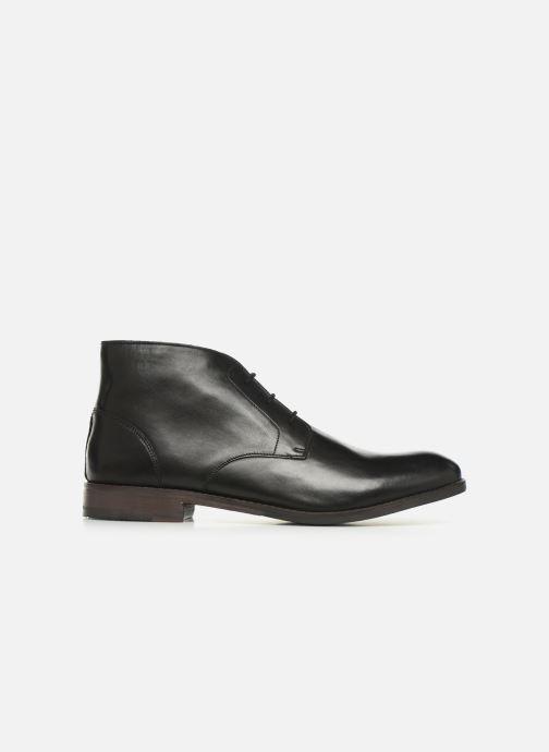 Boots en enkellaarsjes Clarks FLOW TOP Zwart achterkant