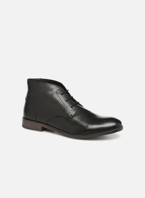 Boots en enkellaarsjes Clarks FLOW TOP Zwart detail