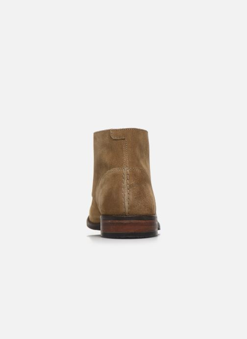 Bottines et boots Clarks FLOW TOP Beige vue droite