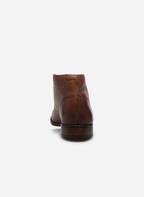 Bottines et boots Clarks FLOW TOP Marron vue droite