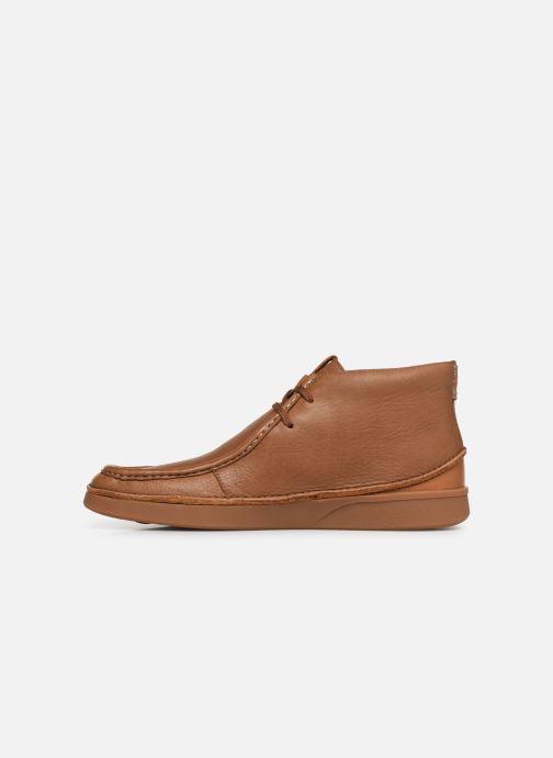 Boots en enkellaarsjes Clarks OAKLAND MID Bruin voorkant