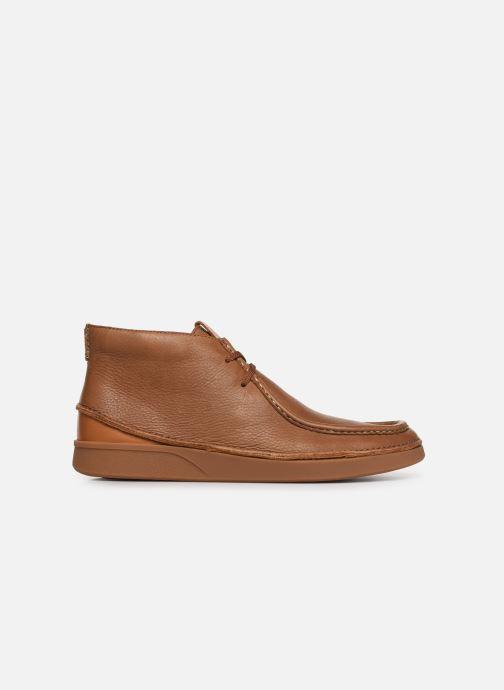 Boots en enkellaarsjes Clarks OAKLAND MID Bruin achterkant