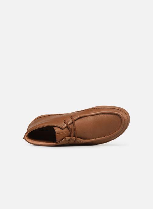 Boots en enkellaarsjes Clarks OAKLAND MID Bruin links