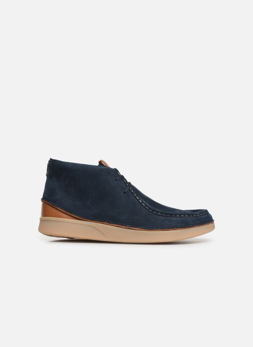 Ankle boots Clarks OAKLAND MID Blue back view