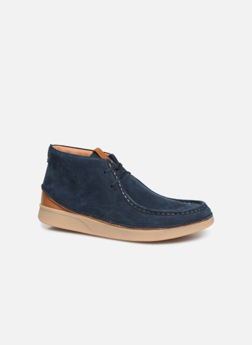Ankle boots Clarks OAKLAND MID Blue detailed view/ Pair view