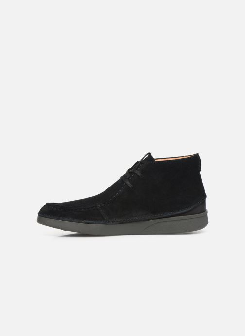 Ankle boots Clarks OAKLAND MID Black front view