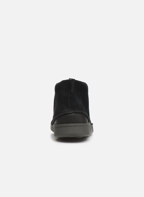 Ankle boots Clarks OAKLAND MID Black view from the right