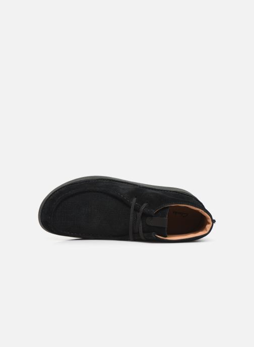 Ankle boots Clarks OAKLAND MID Black view from the left
