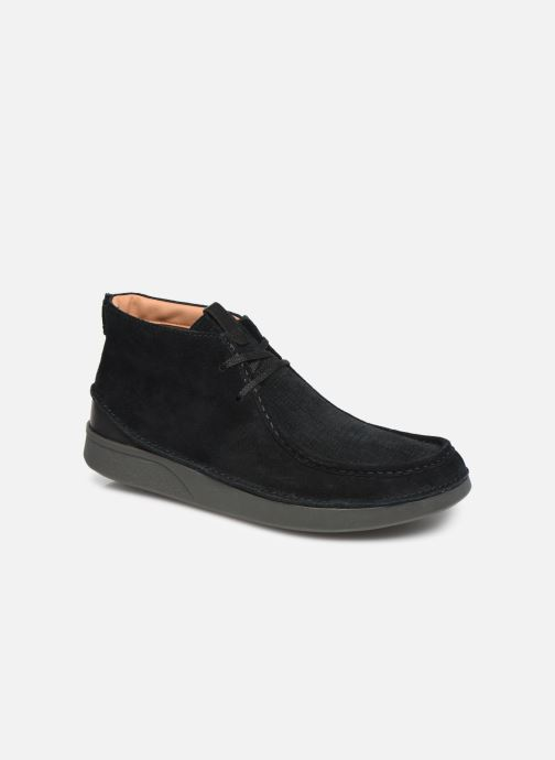 Ankle boots Clarks OAKLAND MID Black detailed view/ Pair view