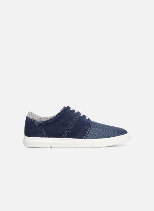 Sneakers Clarks LANDRY EDGE Blauw achterkant
