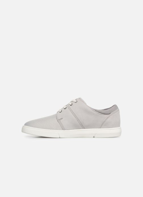 Trainers Clarks LANDRY EDGE Grey front view