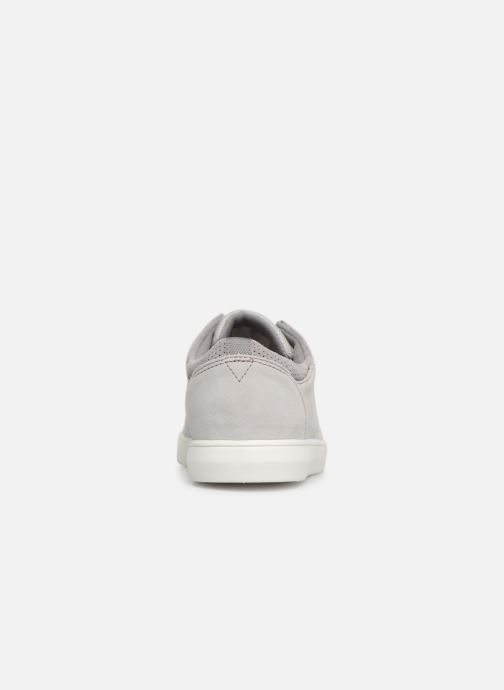 Trainers Clarks LANDRY EDGE Grey view from the right