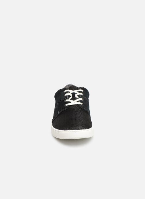 Baskets Clarks LANDRY EDGE Noir vue portées chaussures