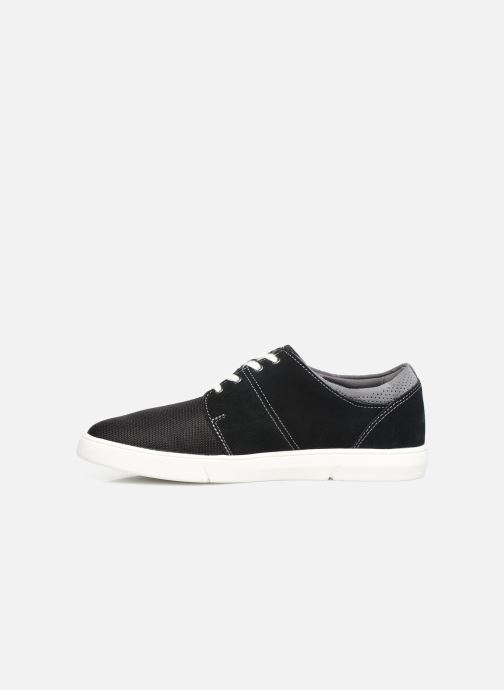 Trainers Clarks LANDRY EDGE Black front view