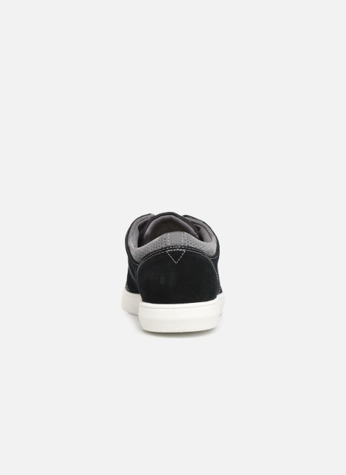 Trainers Clarks LANDRY EDGE Black view from the right