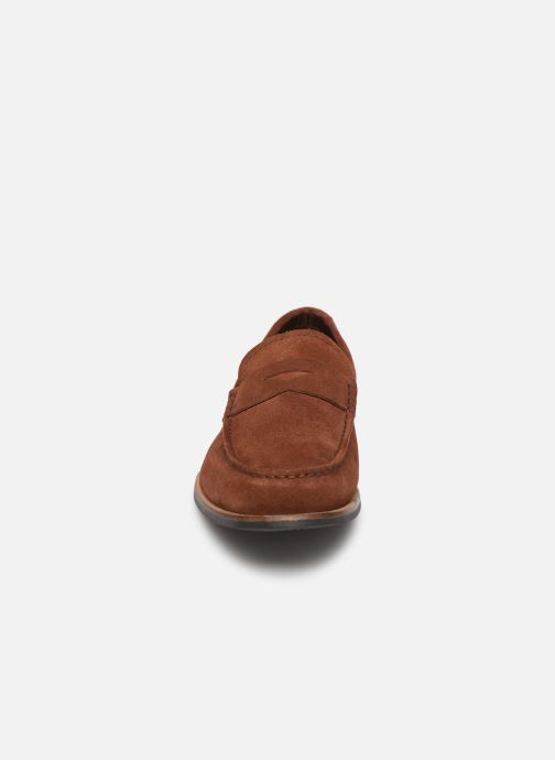 Mocassins Clarks WHILTEY FREE Marron vue portées chaussures