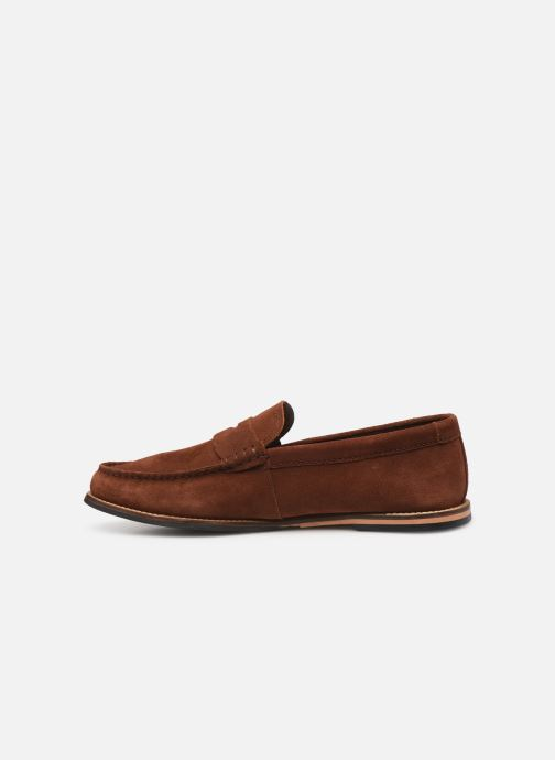 Mocassins Clarks WHILTEY FREE Marron vue face