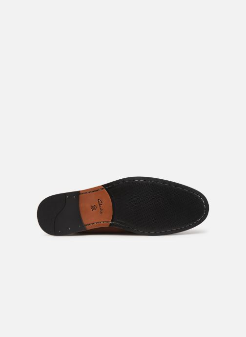 Mocassins Clarks WHILTEY FREE Marron vue haut