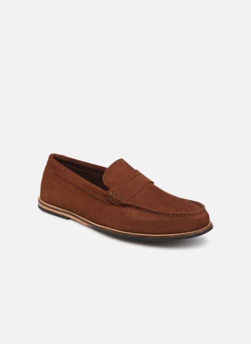 Mocassins Clarks WHILTEY FREE Marron vue détail/paire