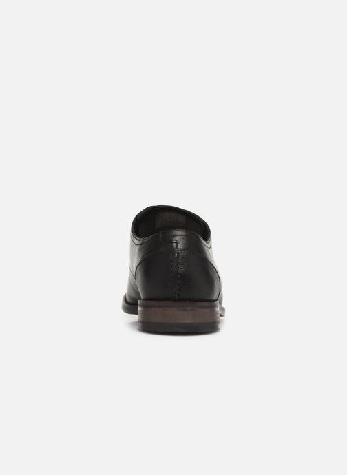 Chaussures à lacets Clarks FLOW PLAIN Noir vue droite