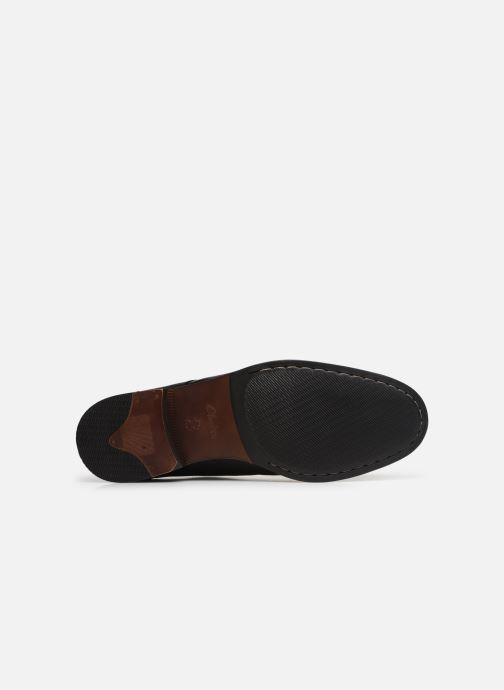 Scarpe con lacci Clarks FLOW PLAIN Nero immagine dall'alto