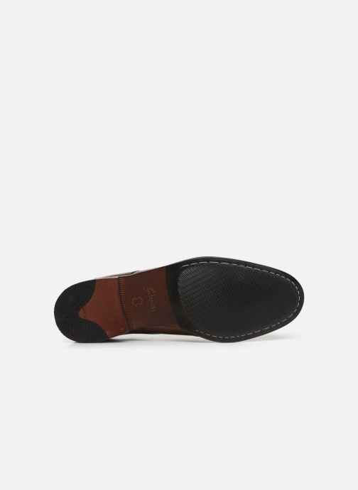 Chaussures à lacets Clarks FLOW PLAIN Marron vue haut