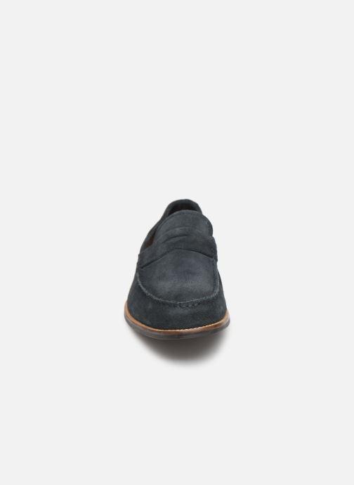 Mocassins Clarks WHITLEY FREE Bleu vue portées chaussures