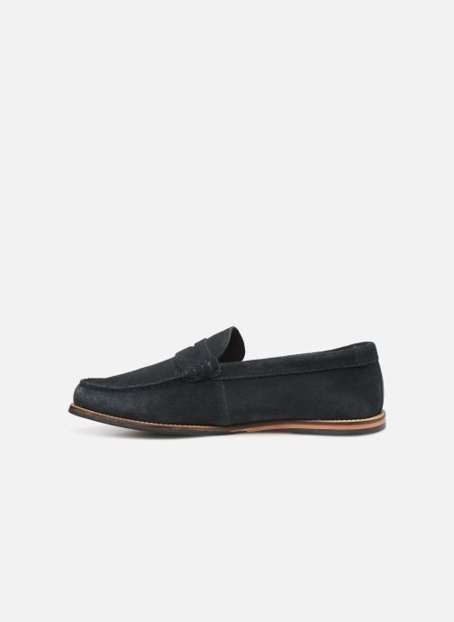 Loafers Clarks WHITLEY FREE Blue front view