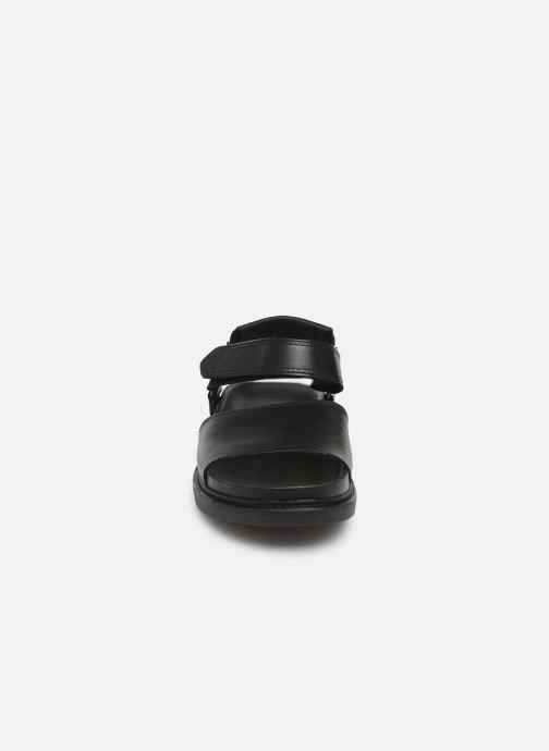 Sandales et nu-pieds Clarks TRACE BAY Noir vue portées chaussures