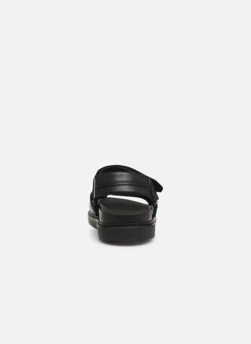 Sandales et nu-pieds Clarks TRACE BAY Noir vue droite