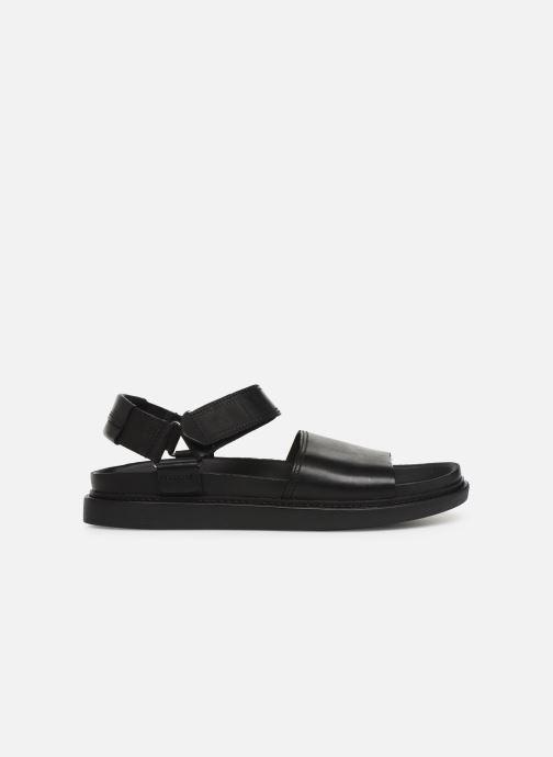 Sandales et nu-pieds Clarks TRACE BAY Noir vue derrière