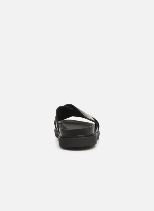 Sandales et nu-pieds Clarks TRACE CROSS Noir vue droite