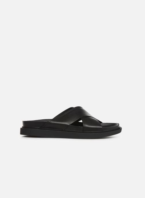 Sandales et nu-pieds Clarks TRACE CROSS Noir vue derrière