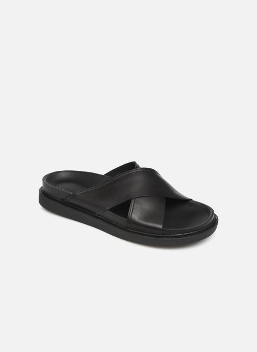 Sandals Clarks TRACE CROSS Black detailed view/ Pair view