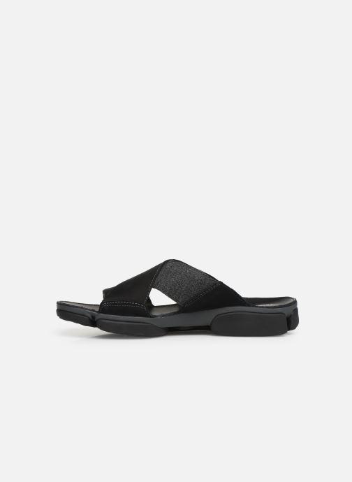 Sandali e scarpe aperte Clarks TRI COVE CROSS Nero immagine frontale