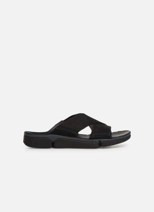 Sandals Clarks TRI COVE CROSS Black back view