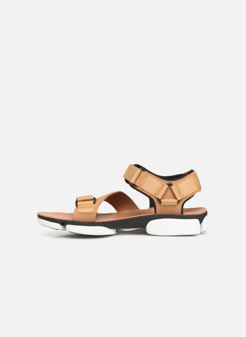 Sandals Clarks TRI COVE SUN Brown front view