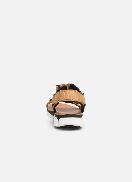 Sandales et nu-pieds Clarks TRI COVE SUN Marron vue droite