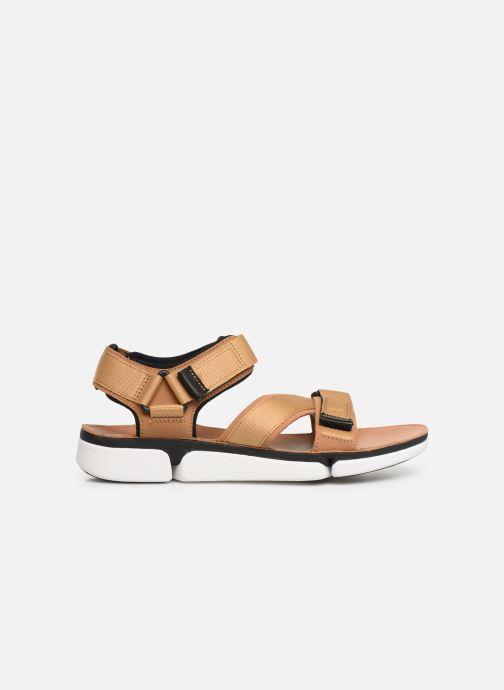 Sandales et nu-pieds Clarks TRI COVE SUN Marron vue derrière