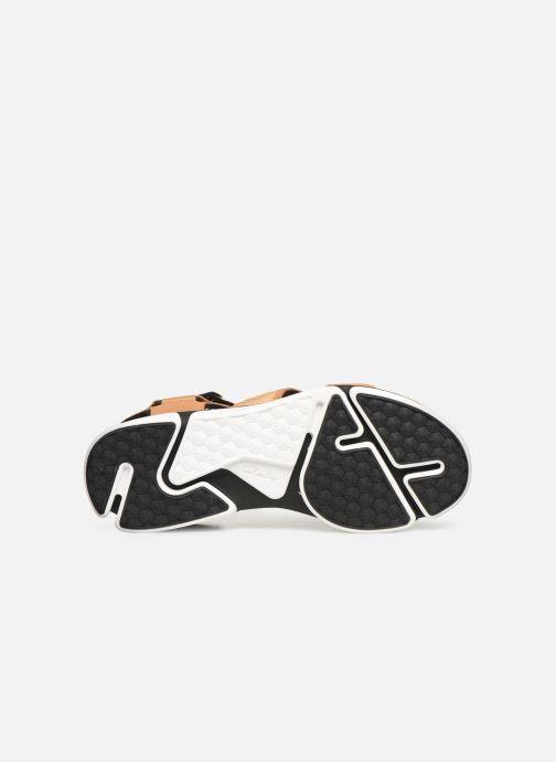 Sandales et nu-pieds Clarks TRI COVE SUN Marron vue haut