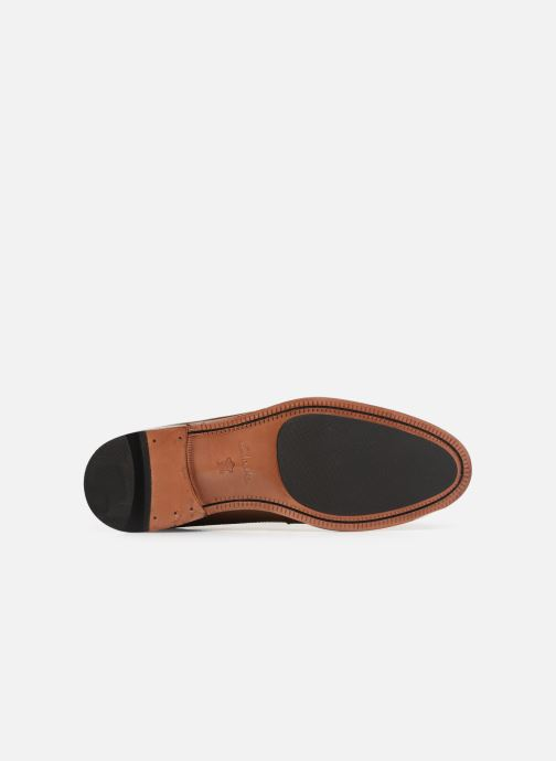 Lace-up shoes Clarks COLING LIMIT Brown view from above