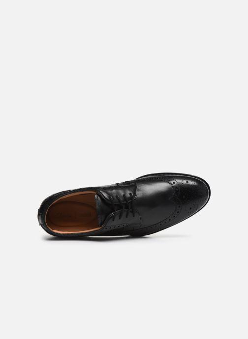 Chaussures à lacets Clarks COLING LIMIT Noir vue gauche