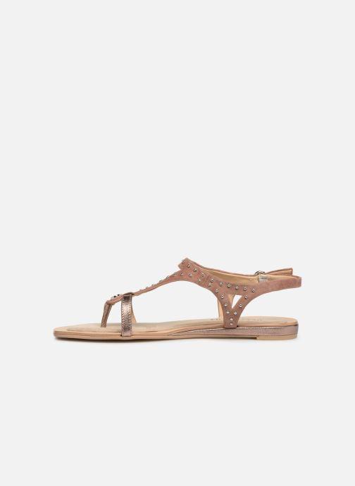Sandales et nu-pieds JB MARTIN ALANIS Rose vue face