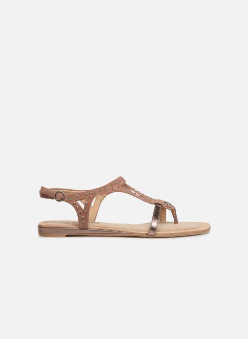 Sandales et nu-pieds JB MARTIN ALANIS Rose vue derrière
